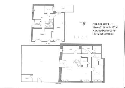 plan de maison 150 000 euros