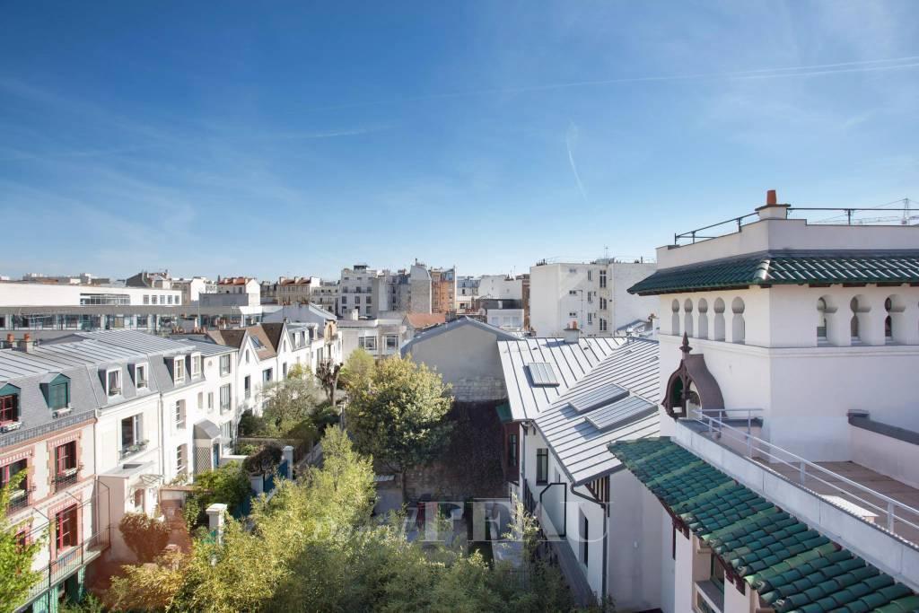 Levallois - Villa Chaptal - Garden - Terrace