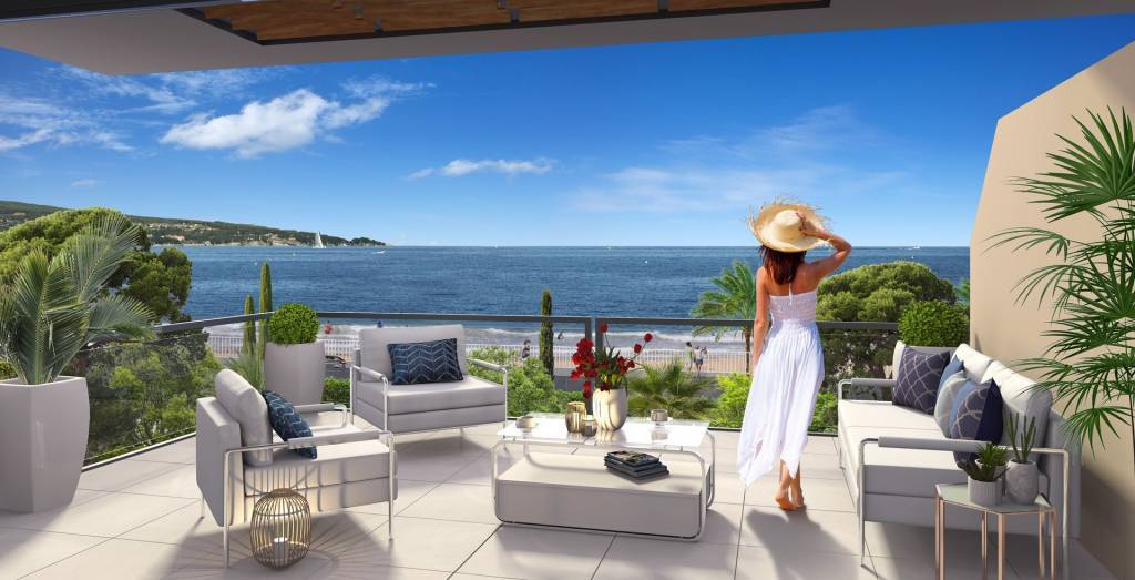 Sainte Maxime – A new apartment on the water's edge