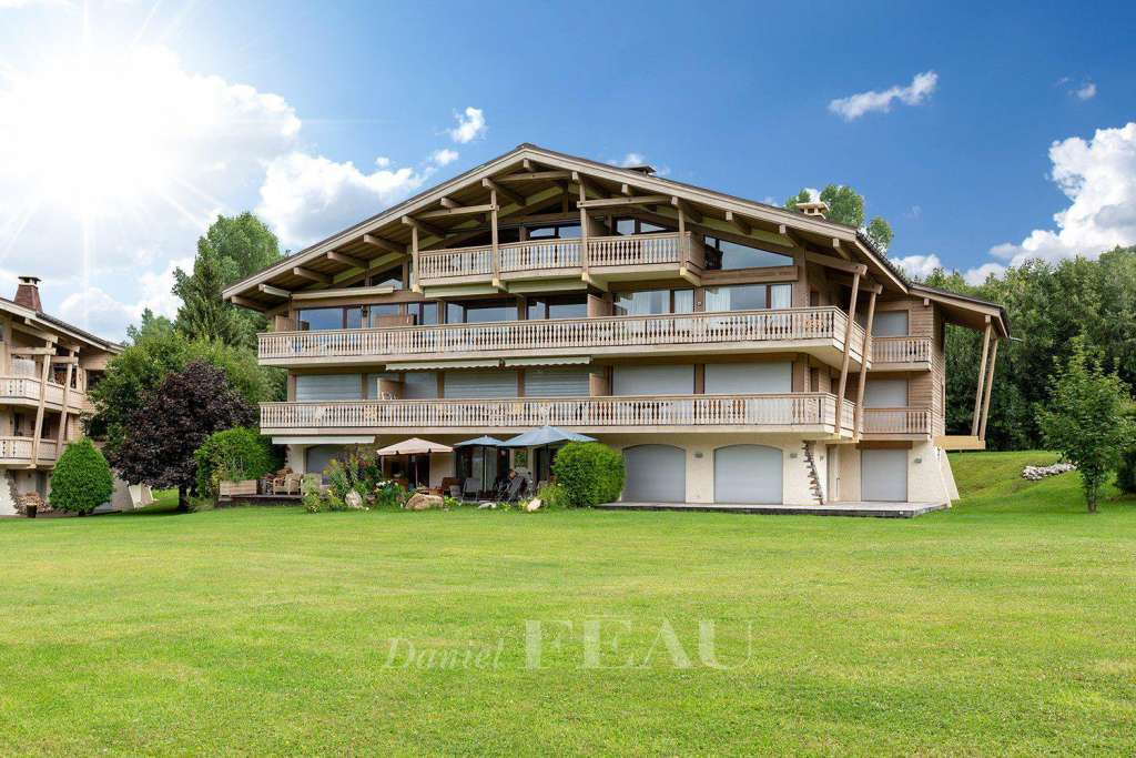 Megève - Apartment located on the golf of Mont d'Arbois