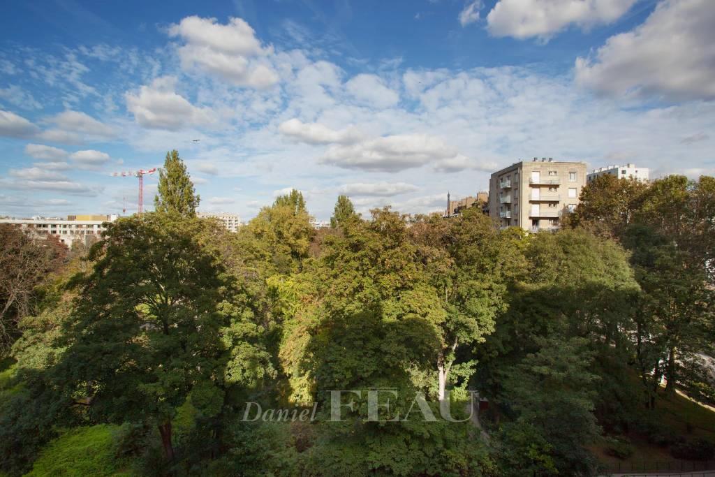 Paris XVIe - Parc Sainte-Périne