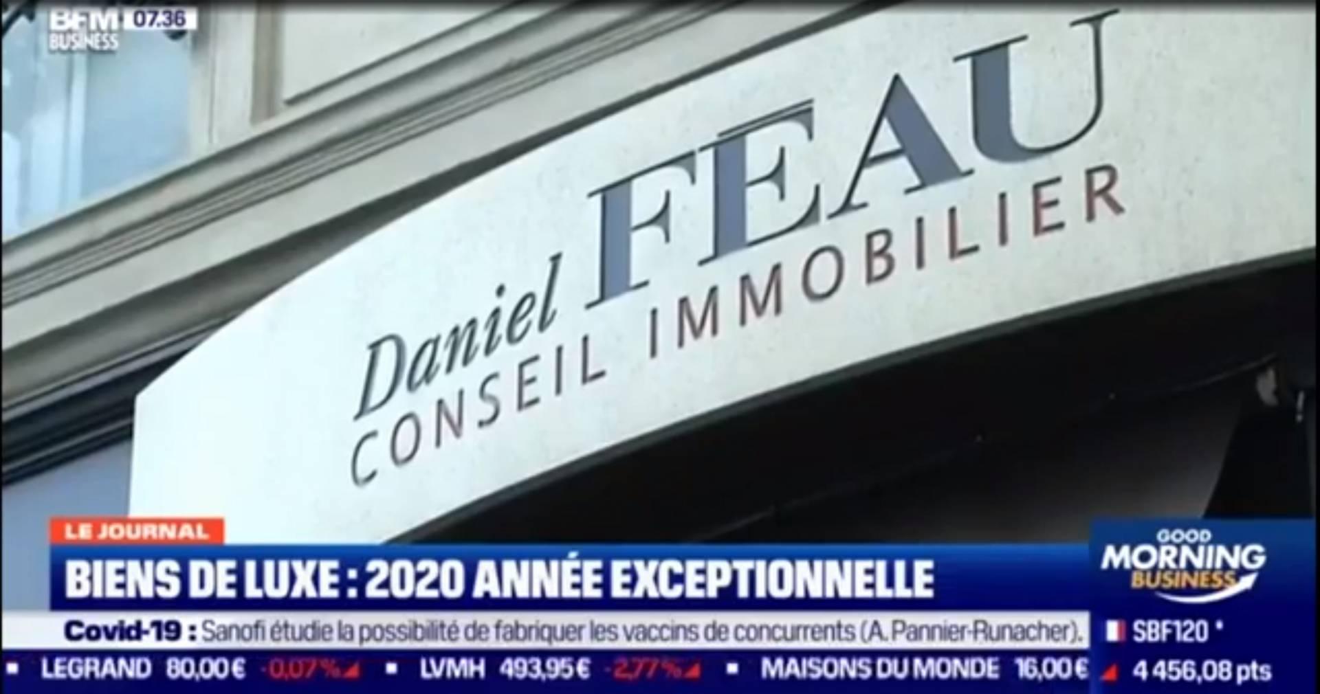 Immobilier - Les acheteurs français ont sauvé le marché immobilier de luxe à Paris en 2020