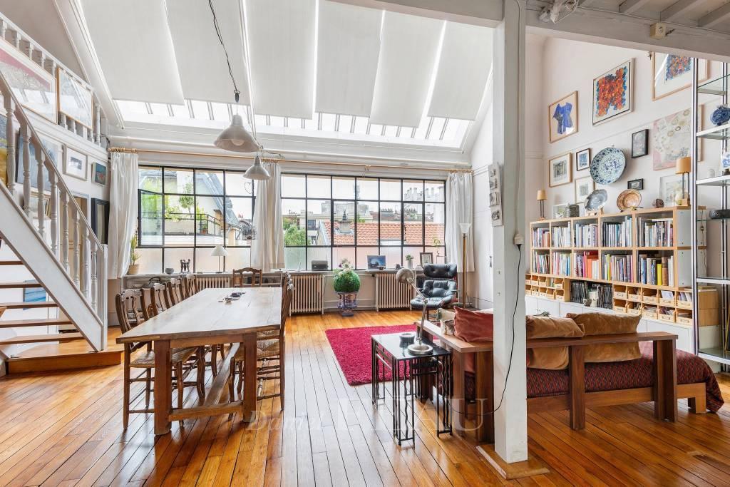 Workshop living room