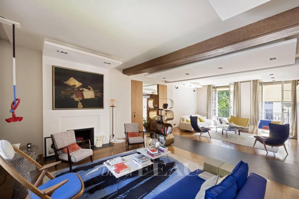Paris IVe -  superbe appartement de reception