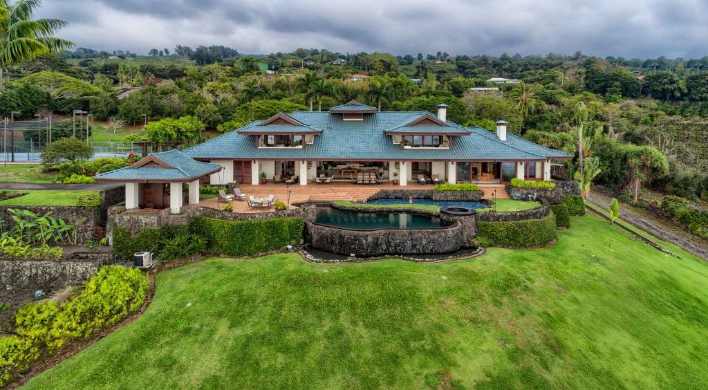 Hawaii - Property on the slopes of Hualalai Mountain