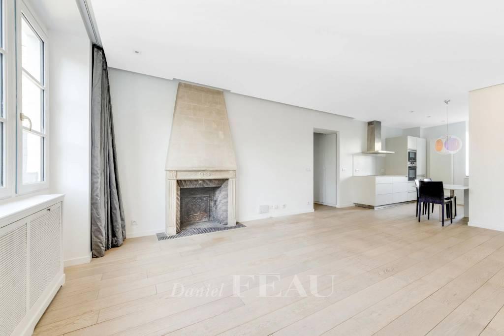 Boulogne-Billancourt - Dernier étage - 3 pièces.