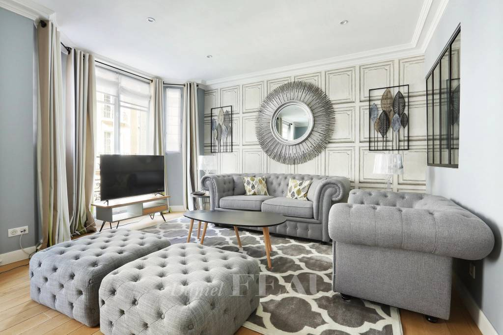 Paris 16th District – A renovated 3-room apartment rented furnished