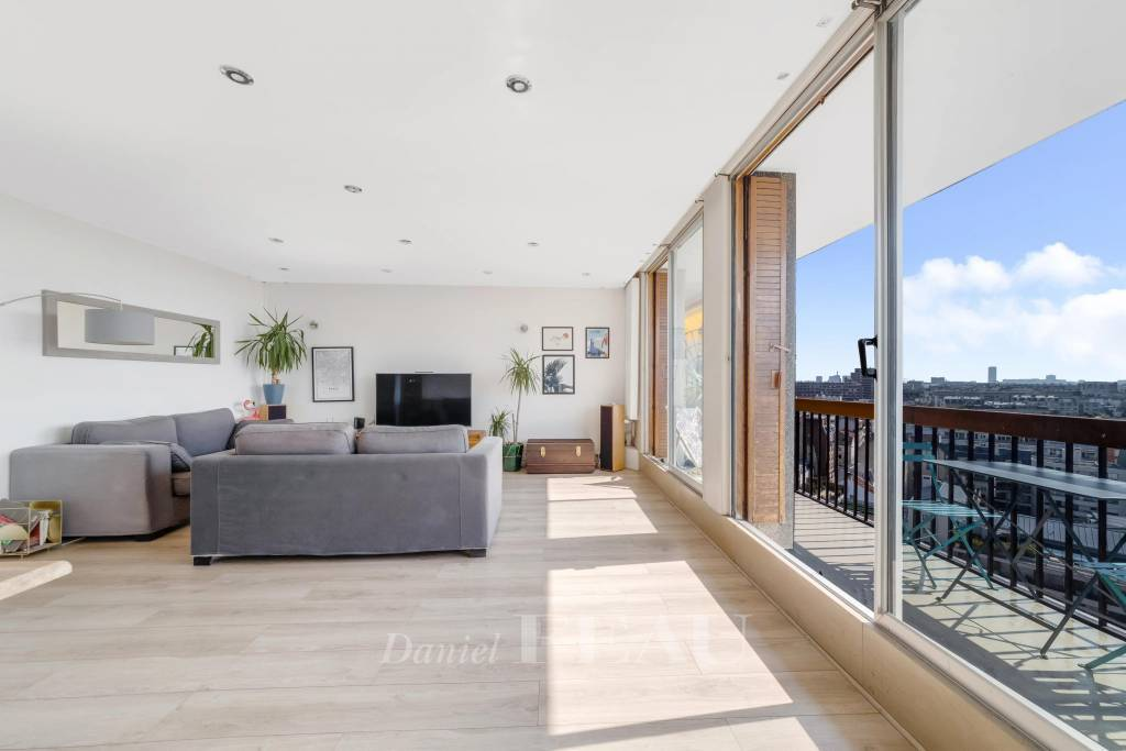 Parchamp - Albert Kahn. Dernier étage vue panoramique.