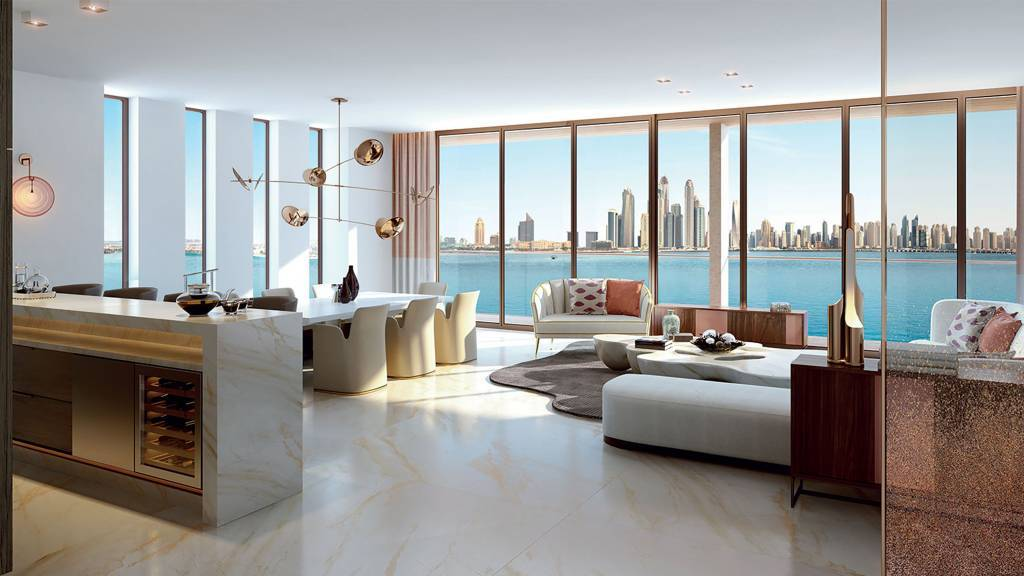 Luxurious penthouse on the Palm Jumeirah, Dubaï