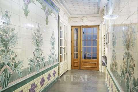 Couloir Fenêtres coulissantes Carrelage