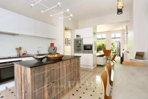 Kitchen Tile Kitchen island Stainless steel