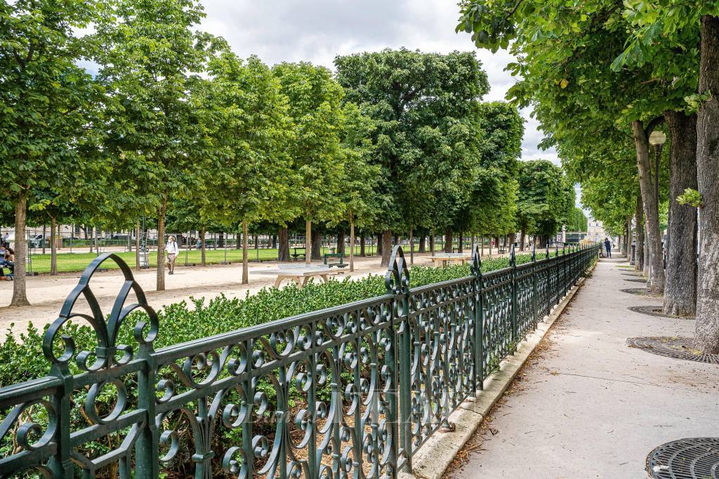 Paris VIe - Avenue de l'Observatoire - Jardin du Luxembourg