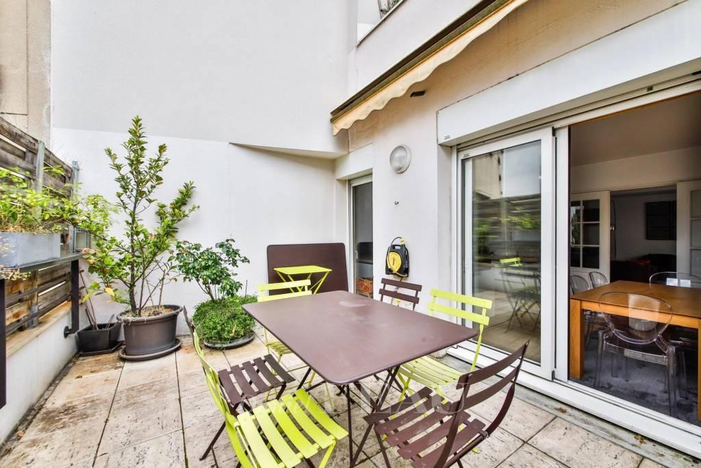Boulogne Nord - Appartement de réception - Terrasse.