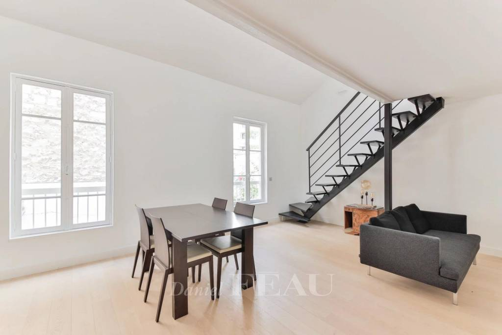 Boulogne-Billancourt  -  A renovated one-bed apartment