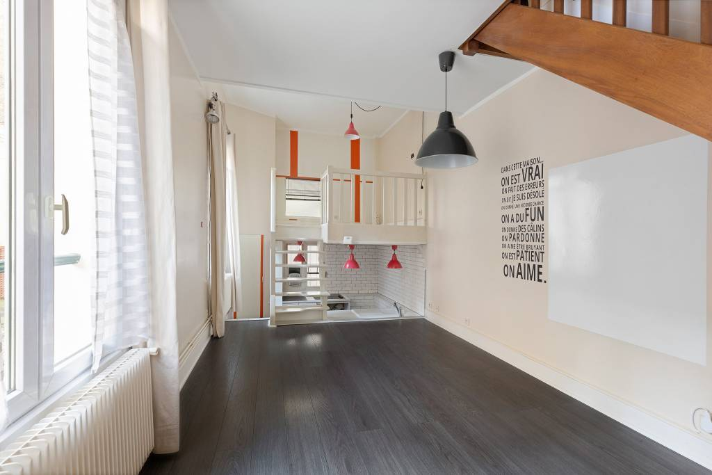 Neuilly-sur-Seine  -  An atypical 2-bed apartment