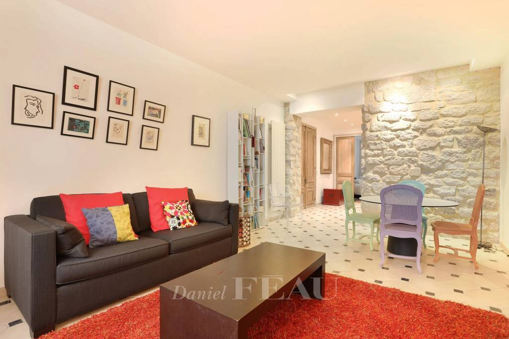 Paris 6th District – A one-bed apartment in a prime location