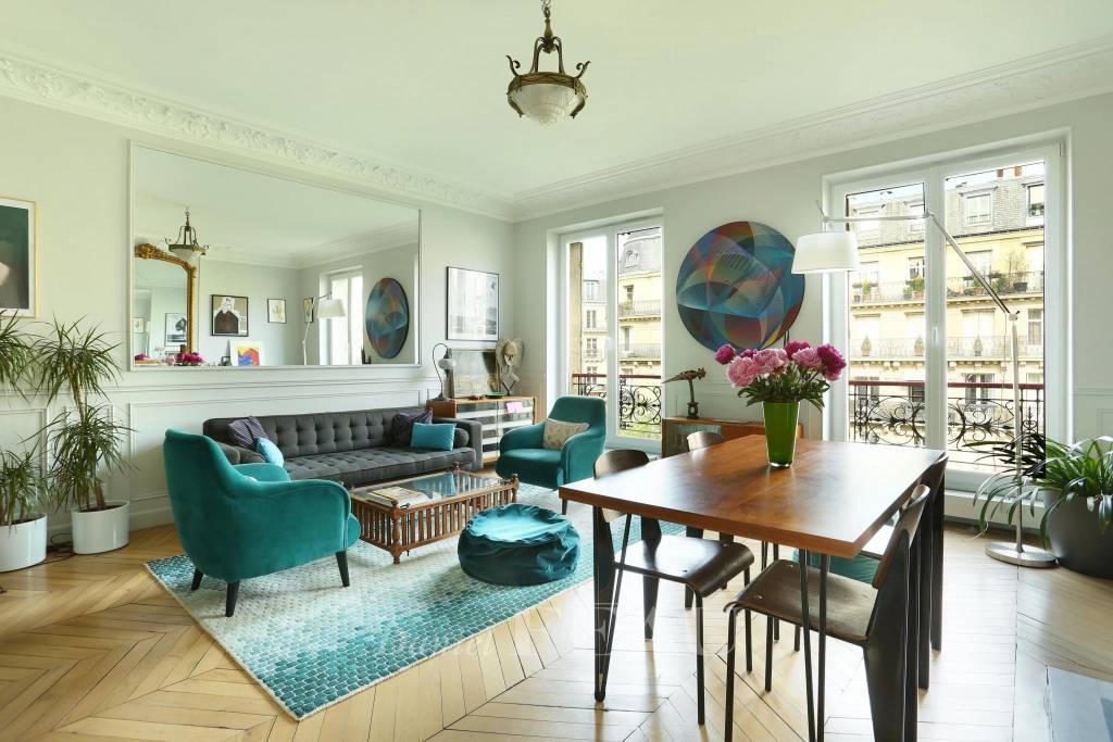 Paris 17th District – A 3-room apartment near Parc Monceau