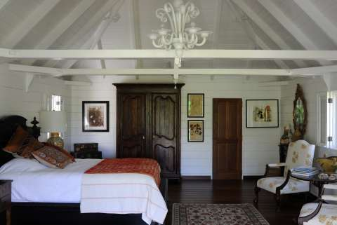 Bedroom Chandelier Wood floors