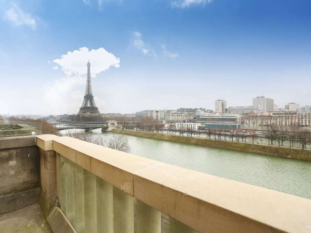 Paris XVIe - Avenue du Président Kennedy