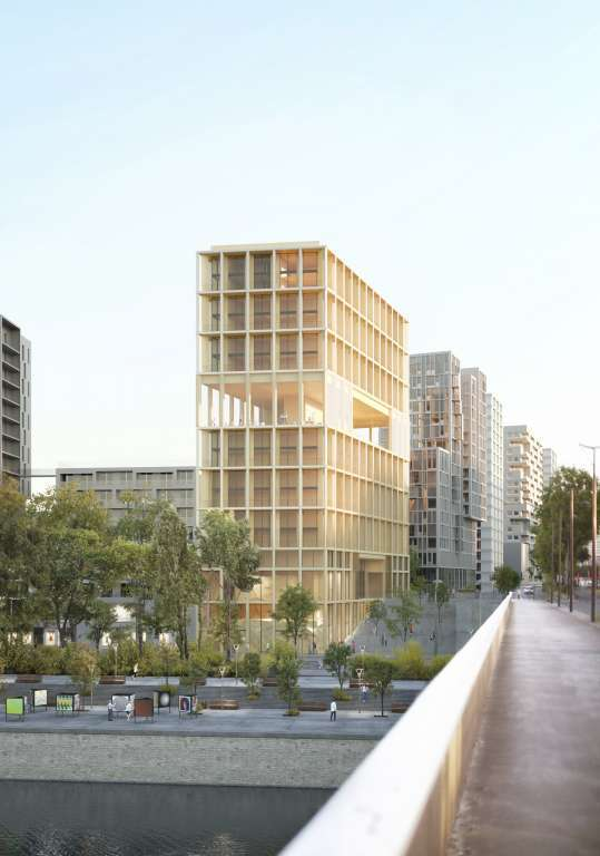 Paris 13th District - Wood Up - New Luxury