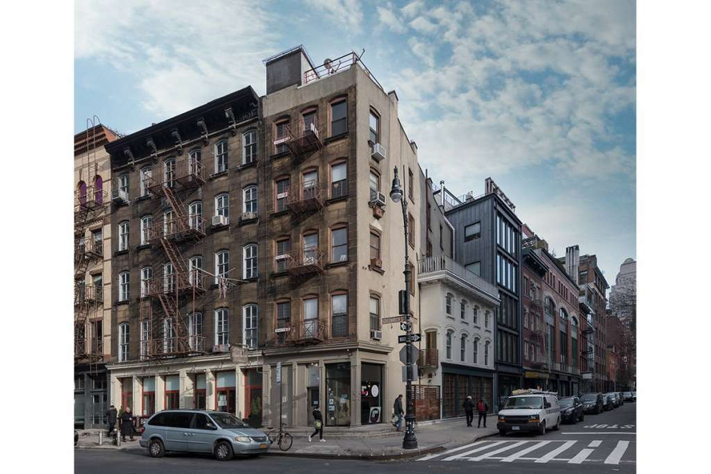 New York - Tribeca - Immeuble d'angle