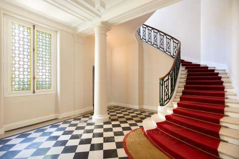 Building's staircase