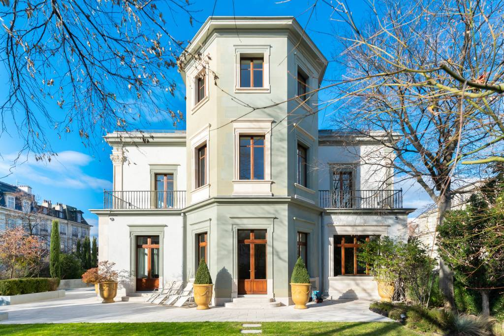 Genève - Maison familiale proche de l'église Russe