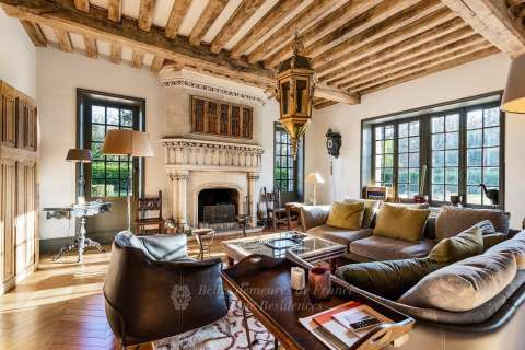 Living-room Fireplace