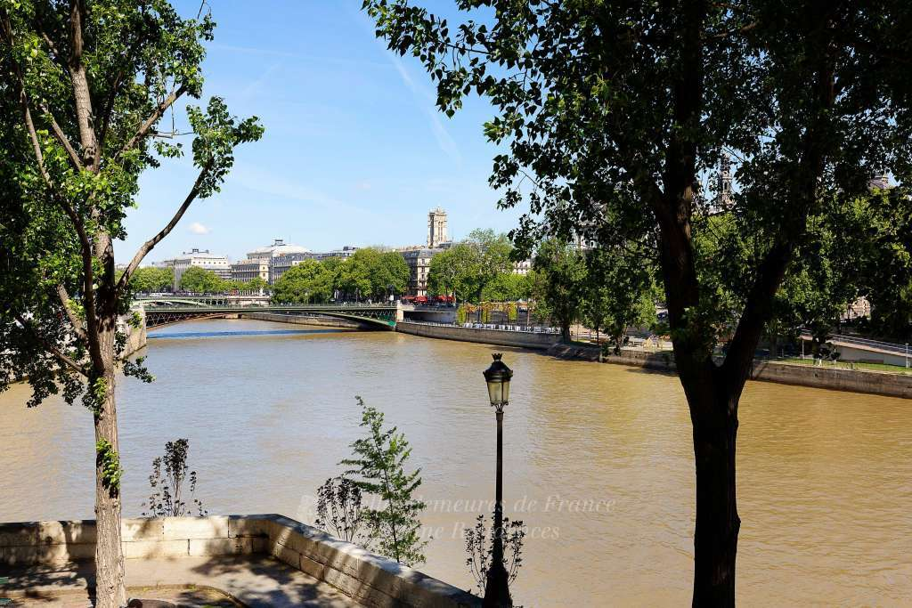 View on river Seine