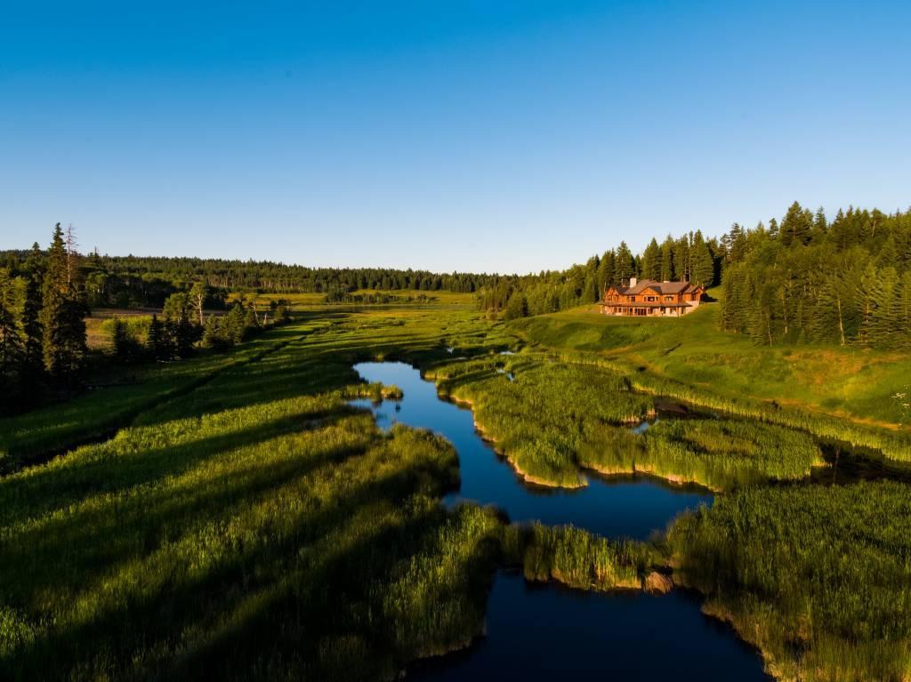 Le ranch des quatre cœurs, Colombie-Brittanique, Canada