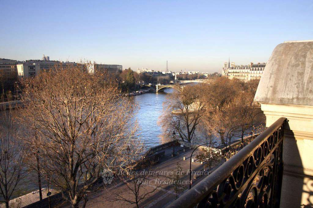 View on the river Seine