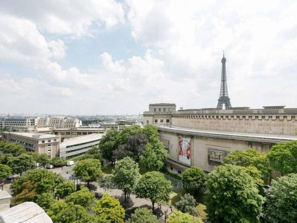 Paris XVIe - Trocadéro/Vue tour Eiffel