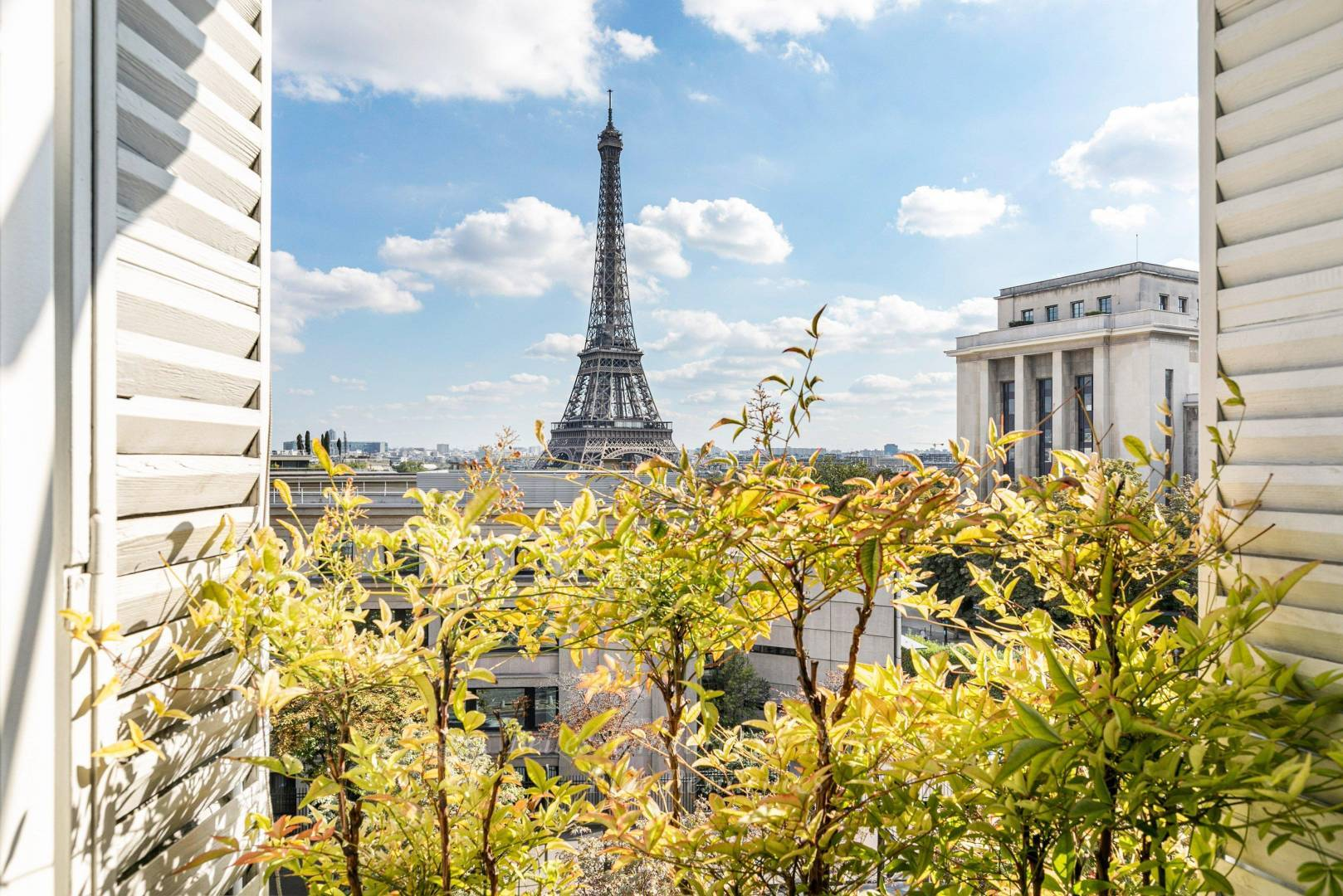 Vue - Tour Eiffel