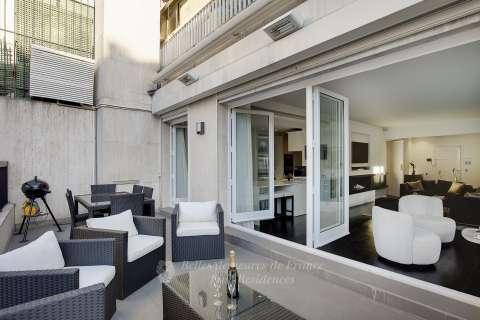 terrace, living room