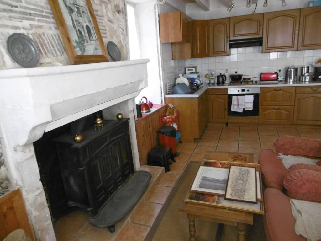 Kitchen Fireplace Tile