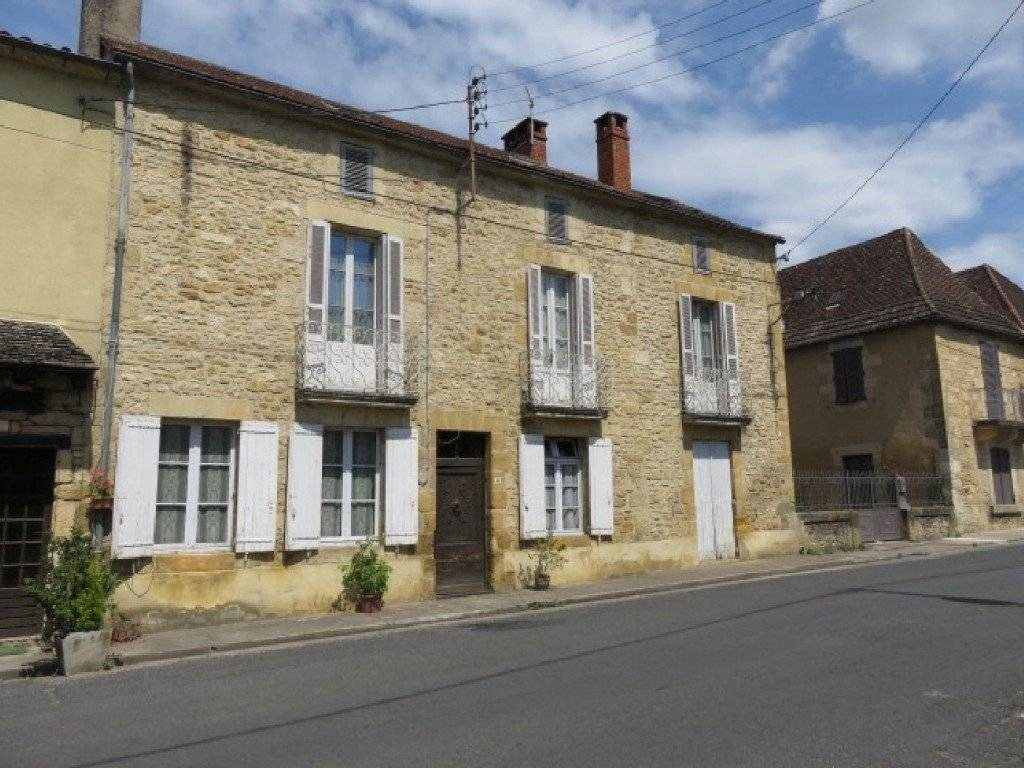 Spacious old stone village house for sale with around ...