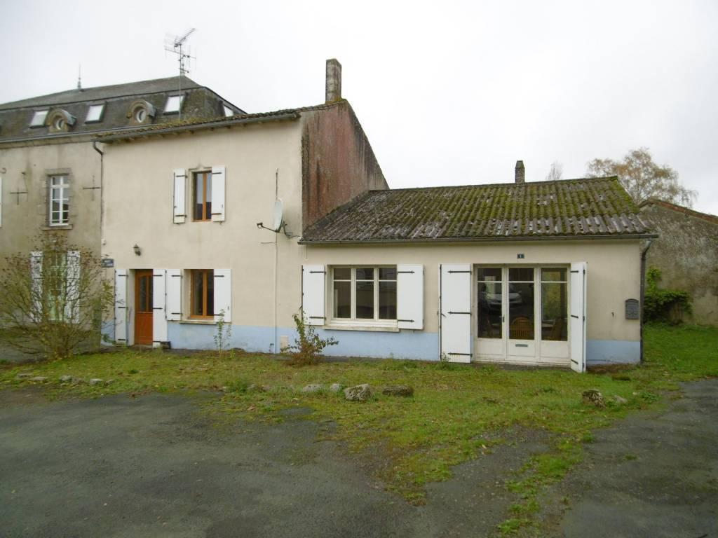 Maison de village avec potentiel studio / bureau