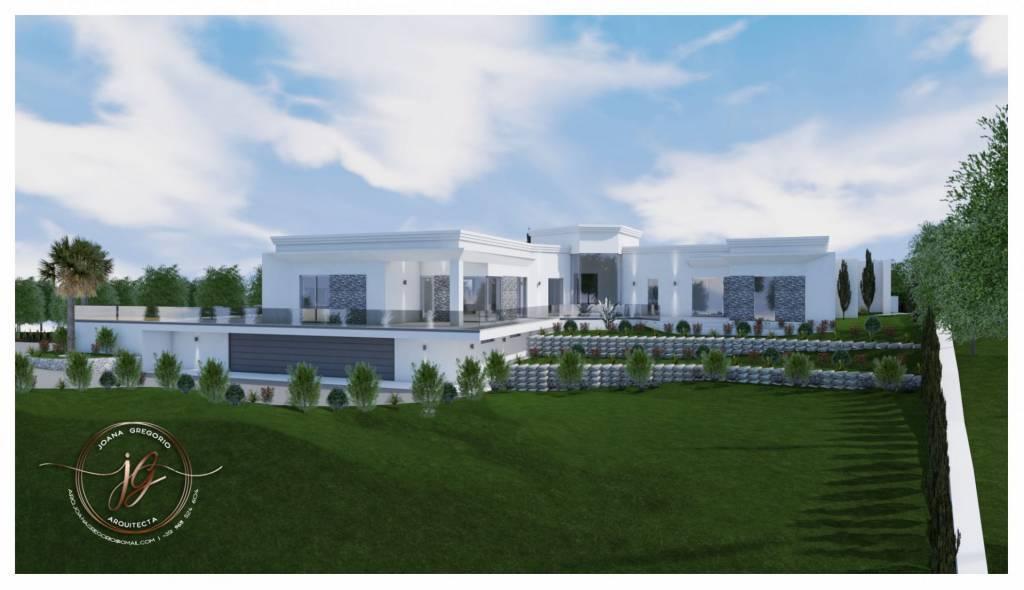 Magnifique vue panoramique, Projet Villa