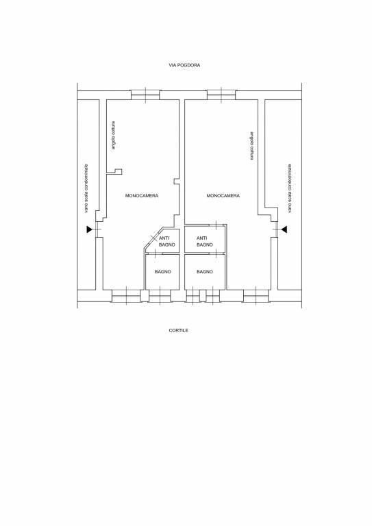 Planimetria ristrutturazione