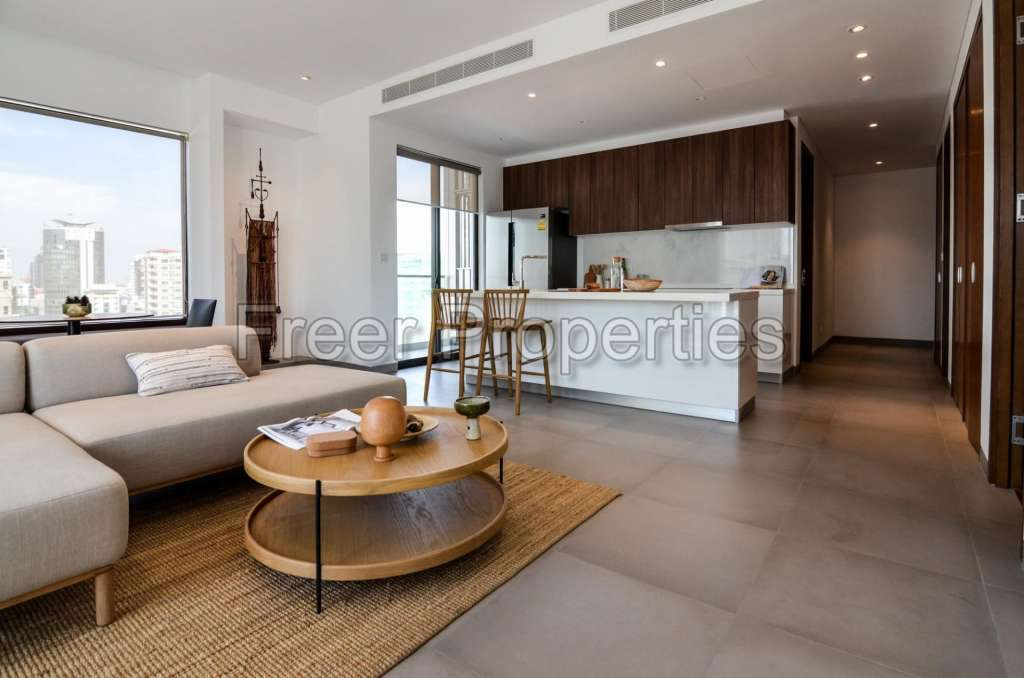 Luxurious high-end 2 BR condo in the heart of BKK 1 for sale $400,000