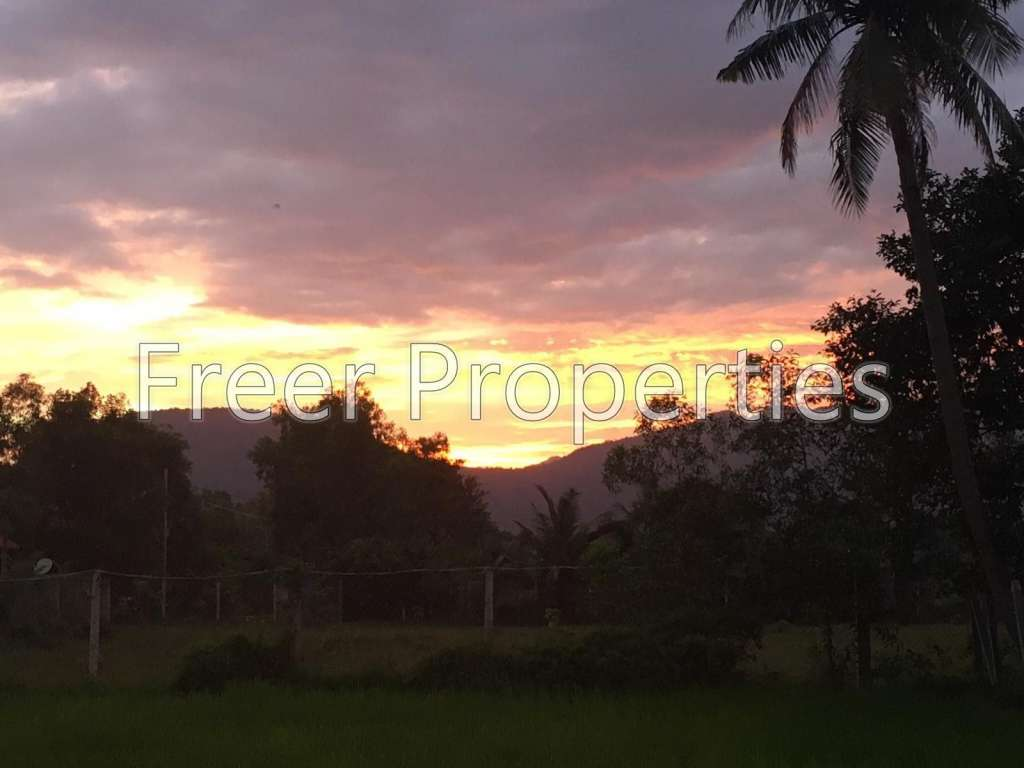 Hard titled land blocks for sale International Village Kampot (from $36,000)