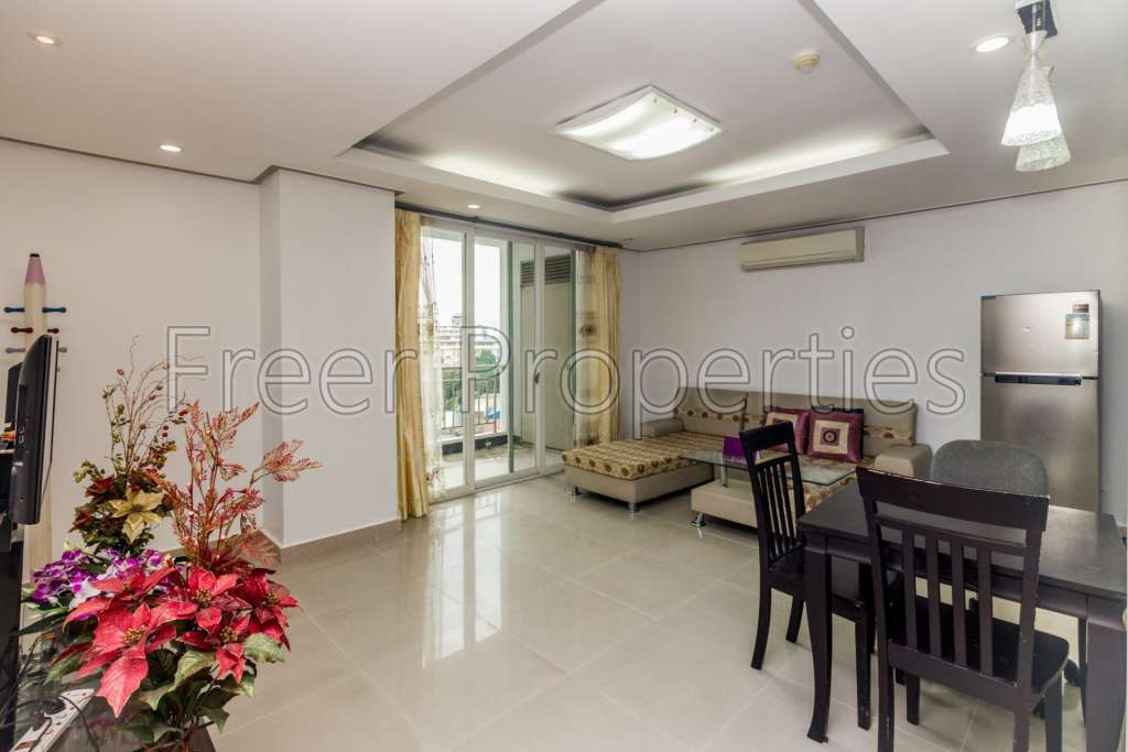1 BR condo for rent Toul Kork