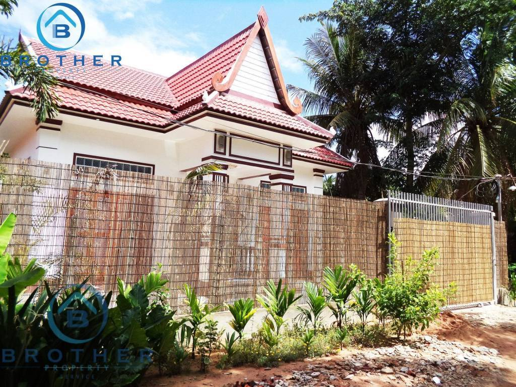 A Two bedrooms house for lease in Siem Reap
