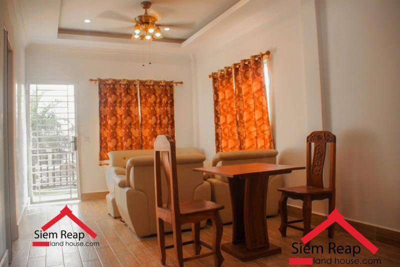 Newly 1 bedroom apartment for rent at Wat Bo in siem reap ID: AP-220 $350/m
