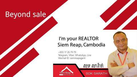 Sale Commercial land Svay Leu