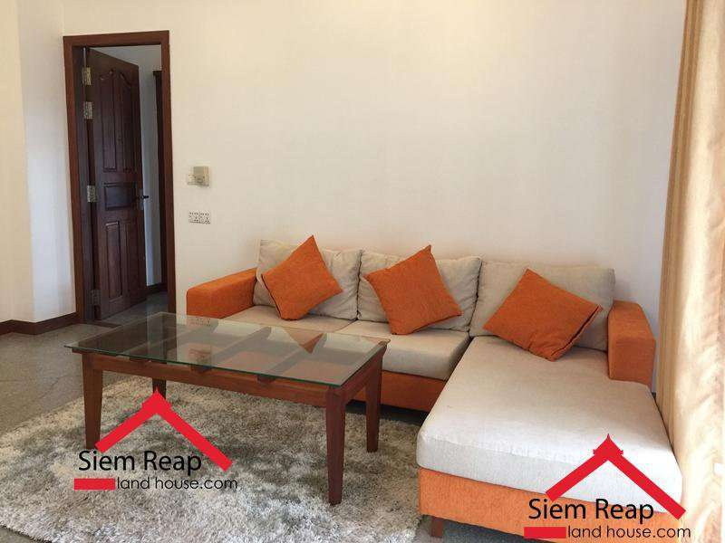 1 Bedroom Apartment On Wat Bo St For Rent In Siem Reap ID: AP-197 $450/M