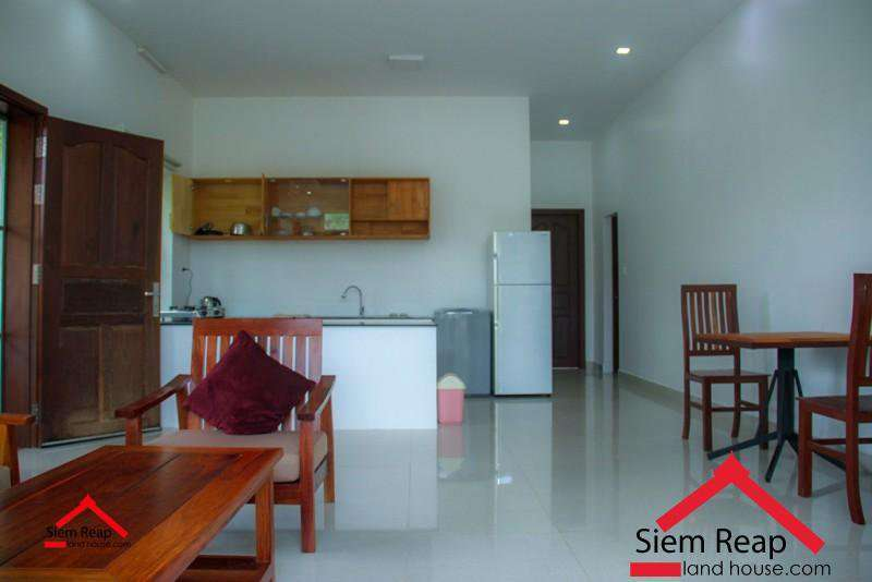 Apartment 1 bedroom at Salakemreuk siem reap for rent ID: A-235 $400 per month