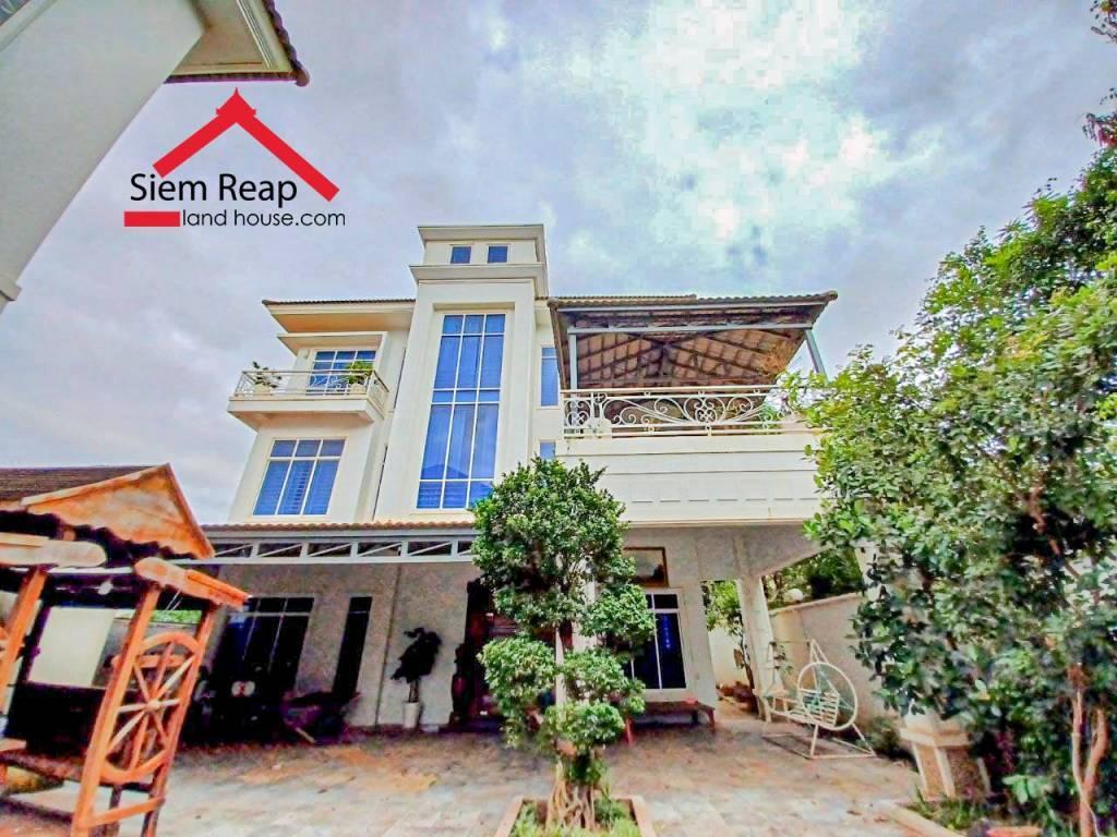 出租 别墅 Siem Reap Svay Dankum