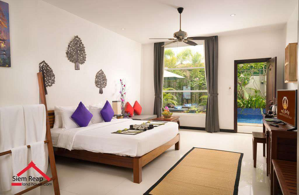 8 rooms boutique hotel for rent