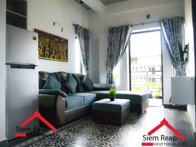 1 bedroom apartment in siem reap for rent $350 per month ID A-129